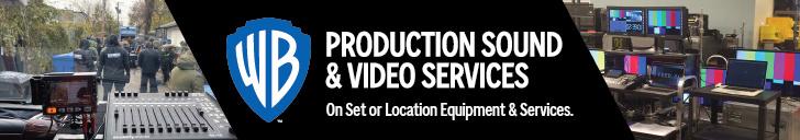 WARNER BROS. PRODUCTION SOUND & VIDEO SERVICES