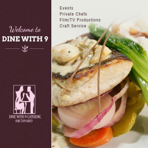 DINE WITH 9 CATERING