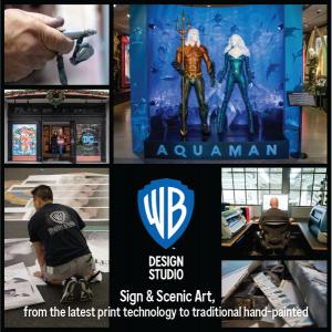 WARNER BROS. SIGN, GRAPHICS & SCENIC ART